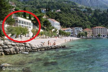 Mimice, Omiš, Property 1030 - Apartments near sea with pebble beach.