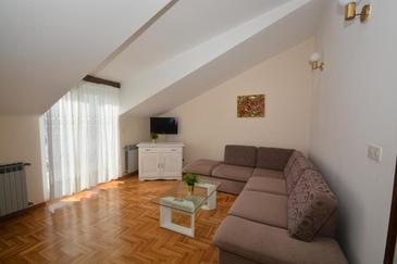 Podstrana, Гостиная в размещении типа apartment, WiFi.