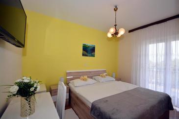 Podstrana, Ložnice v ubytování typu room, WiFi.