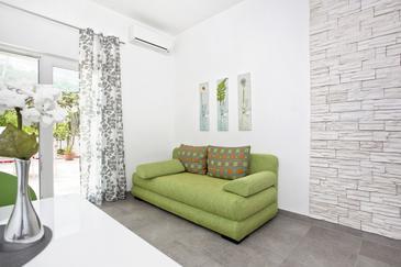 Duće, Гостиная в размещении типа apartment, доступный кондиционер и WiFi.