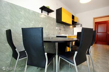 Ražanj, Dining room in the apartment, (pet friendly) and WiFi.