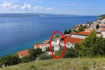 Pisak, Omiš, Объект 10323 - Апартаменты вблизи моря с галечным пляжем.