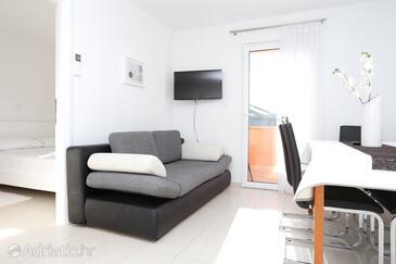 Zečevo Rtić, Living room in the apartment, WiFi.