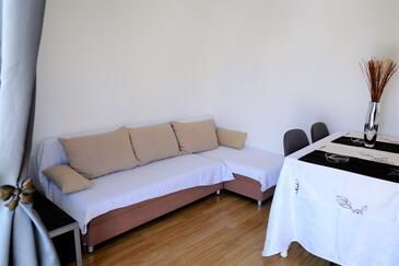 Marina, Salon dans l'hébergement en type apartment, climatisation disponible et WiFi.