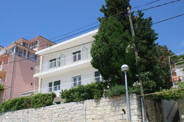 Mimice, Omiš, Property 1033 - Rooms near sea with pebble beach.