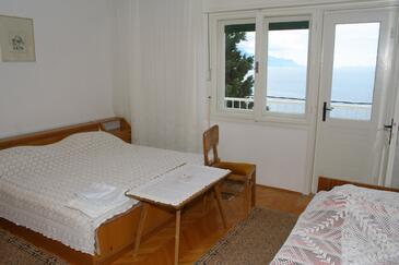 Mimice, Spálňa v ubytovacej jednotke room, WiFi.