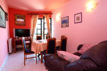 Zečevo Rtić, Esszimmer in folgender Unterkunftsart apartment, WiFi.