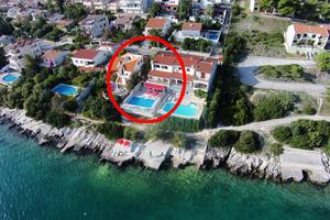 Seaside family friendly house with a swimming pool Seget Vranjica, Trogir - 10336