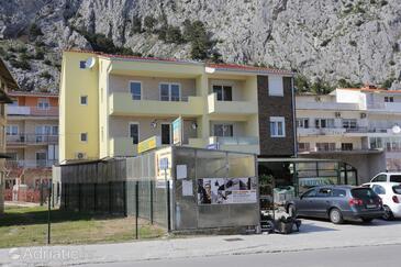Omiš, Omiš, Objekt 10362 - Ubytování s písčitou pláží.