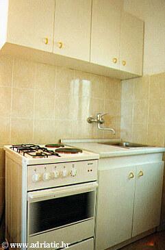 Marušići, Kitchen in the apartment, WiFi.