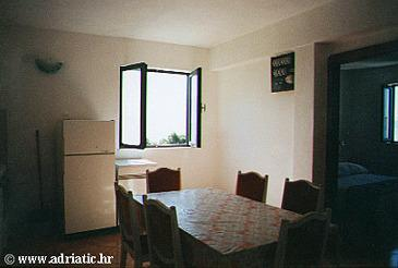 Marušići, Dining room in the apartment.
