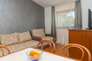 Mali Lošinj, Dining room in the apartment, air condition available and WiFi.