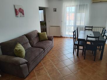 Pula, Obývací pokoj v ubytování typu apartment, domácí mazlíčci povoleni a WiFi.