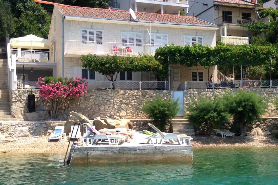 Chorvátsko apartmány priamo pri pláži