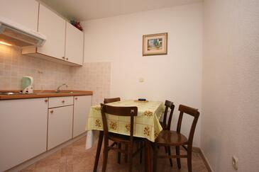 Živogošće - Porat, Jadalnia w zakwaterowaniu typu apartment, WIFI.