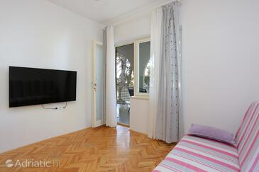 Balića Rat, Obývací pokoj v ubytování typu apartment, domácí mazlíčci povoleni a WiFi.