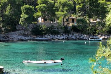Uvala Lozna, Hvar, Property 108 - Apartments near sea with pebble beach.