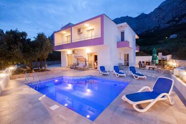 Makarska, Makarska, Объект 11002 - Дом для отдыха с галечным пляжем.