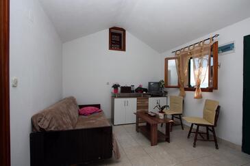 Velo Zvirje, Living room in the house.