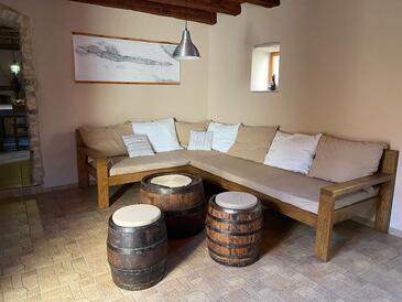 Vrbanj, Obývací pokoj v ubytování typu house, WiFi.