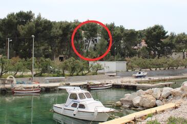 Arbanija, Čiovo, Property 11041 - Apartments by the sea.