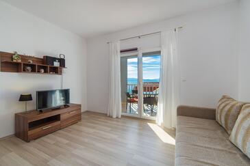 Brist, Гостиная в размещении типа apartment, доступный кондиционер и WiFi.
