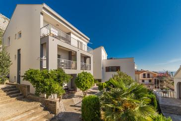 Brist, Makarska, Objekt 11078 - Ubytování v blízkosti moře s oblázkovou pláží.