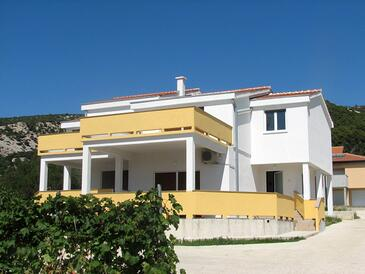 Banjol, Rab, Property 11082 - Apartments with sandy beach.