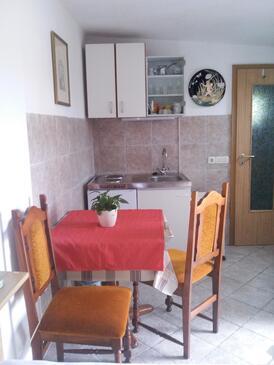 Ližnjan, Jídelna v ubytování typu studio-apartment, WiFi.