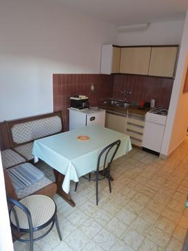 Rabac, Kitchen in the apartment, dopusteni kucni ljubimci i WIFI.