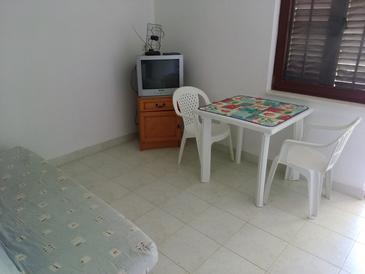 Hodilje, Living room in the apartment.
