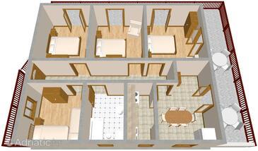 Kanica, План в размещении типа apartment, WiFi.