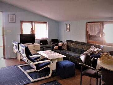 Betiga, Obývací pokoj v ubytování typu apartment, s klimatizací a WiFi.