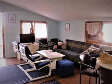 Betiga, Living room in the apartment, air condition available and WiFi.