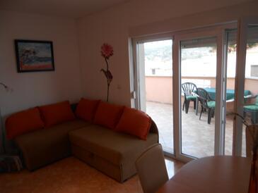 Mavarštica, Salon dans l'hébergement en type apartment, climatisation disponible et WiFi.