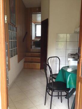 Okrug Gornji, Sufragerie în unitate de cazare tip studio-apartment, animale de companie sunt acceptate şi WiFi.