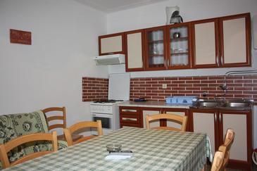 Mandre, Kitchen in the apartment.