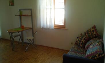Novigrad, Pokój dzienny w zakwaterowaniu typu apartment, WiFi.