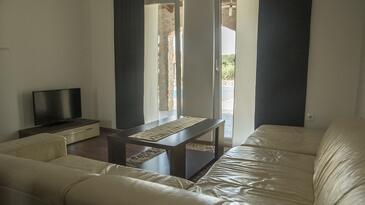 Drvenik Mali, Living room in the house, dostupna klima, dopusteni kucni ljubimci i WIFI.