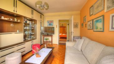 Mlini, Living room in the house, (pet friendly) and WiFi.