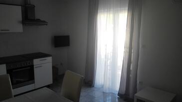 Podstrana, Kitchen in the apartment, WIFI.