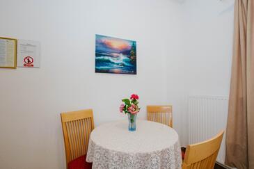 Mastrinka, Ebédlő szállásegység típusa studio-apartment, WiFi .
