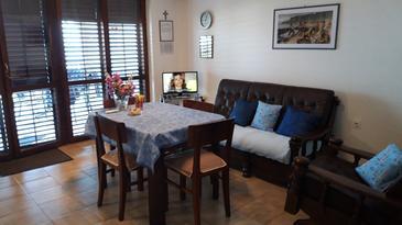 Stomorska, Obývací pokoj v ubytování typu apartment, WiFi.