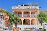 Apartmány s parkovištěm Grebaštica (Šibenik) - 11301