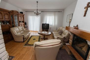 Crikvenica, Living room in the apartment, WiFi.