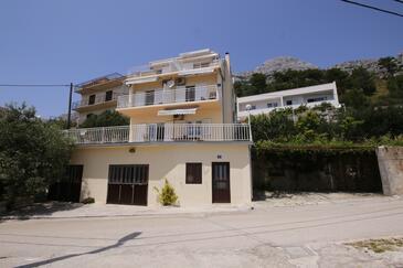 Marušići, Omiš, Объект 1131 - Апартаменты с галечным пляжем.