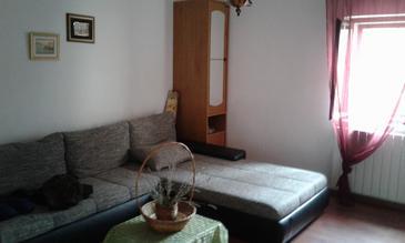 Rošići, Living room in the house, (pet friendly).