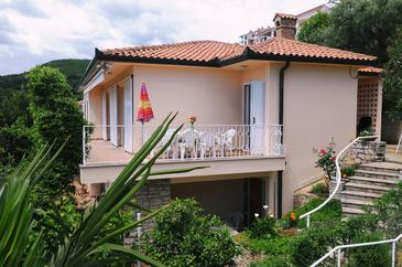 Rabac, Labin, Property 11325 - Apartments with pebble beach.