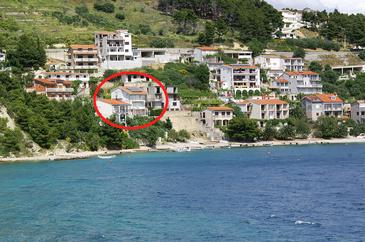 Stanići, Omiš, Property 1133 - Vacation Rentals near sea with pebble beach.