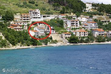 Stanići, Omiš, Property 1133 - Vacation Rentals near sea with pebble beach.